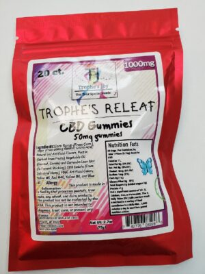 trophes joy 1000mg cbd gummies