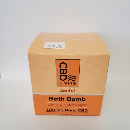 CBD Bergamont Bath Bomb